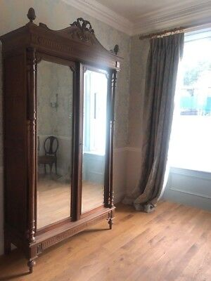 Stunning large grand French armoire wardrobe