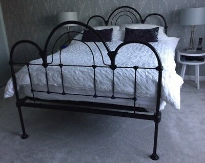 Cast Iron Double Bed  (double)