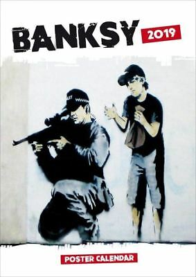 Banksy Graffiti 2019 A3 Poster Calendar by Browntrout