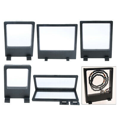 Jewelry 3D Floating Display Frame Case Box Exhibition, Collectibles Display