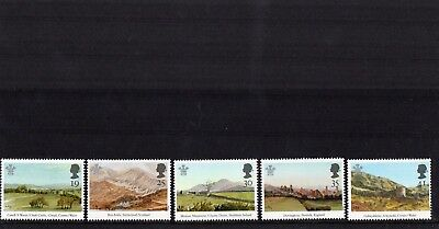 GB 1994 25th Anniv of Investiture of Prince of Wales SG 1810-1814 Mint set