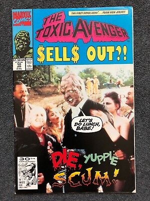 Marvel comics The Toxic Avenger issue #10