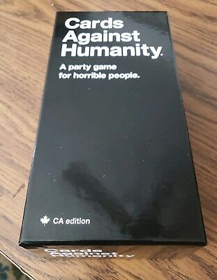 Cards Against Humanity Canada Ca Edition 2.0 Slightly Incomplete Canadian Cah