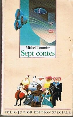 Seven Contes Michel TOURNIER folio junior Book youth