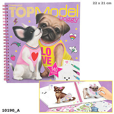 Create Your TOPModel Doggy Book by Depesche With First Class Postage