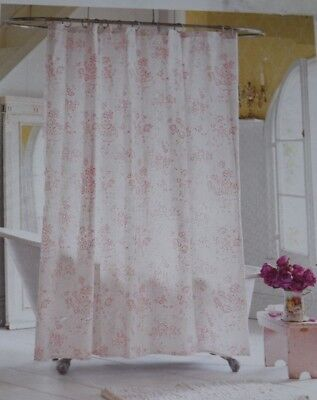 SIMPLY SHABBY CHIC Blush Beauty Pink Roses Cotton Fabric Shower
