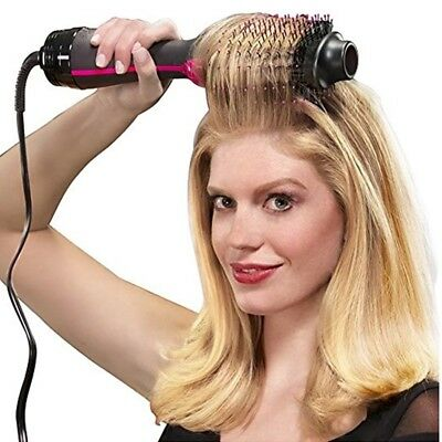 Dryer Brush Hair One Step 2 In 1 Hair Straightener And Volumizer Curling Styling