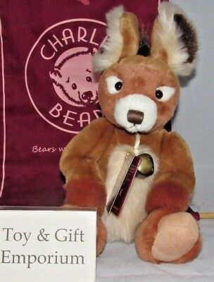 brand New Rrp £48 Special Offer Charlie Bears Hinckley Dolls & Bears