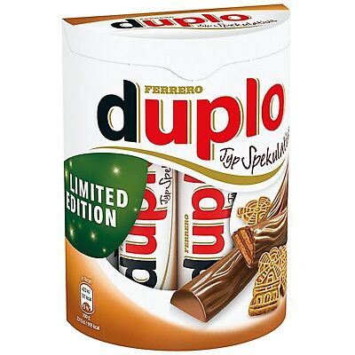 Ferrero Duplo Limited Edition Spekulatius Spiced Cookies 10 Single Bars