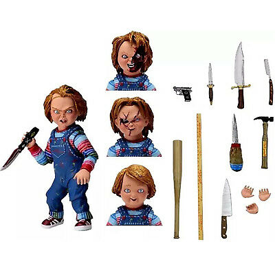 """NECA Chucky Good Guy Doll Child's Play Ultimate 4"""" Action Figure Toys Model Gift"""