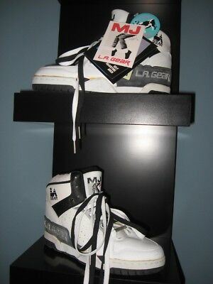 Michael Jackson L.A. Gear SHOES Unstoppable SIZE 7 1/2 leather uppers TAGS + box