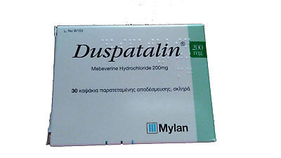 DUSPATALIN Mebeverine  for bloating, irritable bowel syndrome & gas 30 tabs