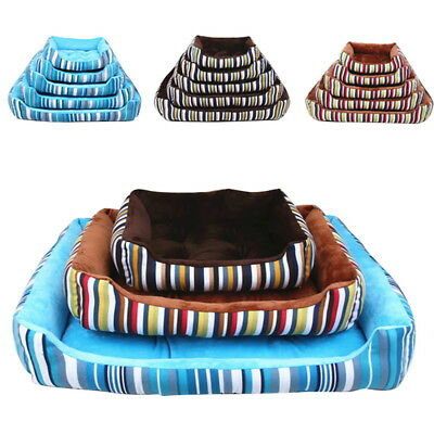 Cozy Pet Dog Cat Bed Puppy Cushion Soft Kennel Mat Blanket Washable 45-90cm