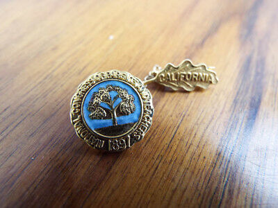 Vintage California National Congress of Parents And Teachers Ribbon Pin