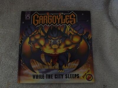 Vintage 1995 1St Gargayles - While The City Sleeps Pop-Up
