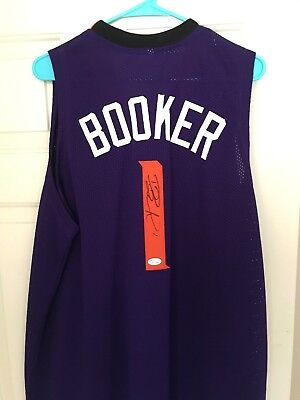 SUNS DEVIN BOOKER Authentic Signed White Jersey Autographed JSA ... f83006104
