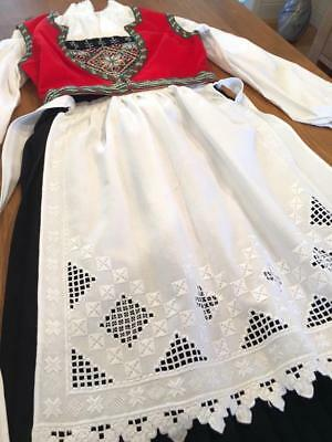 AUTHENTIC Exceptional NORWEGIAN HARDANGER BUNAD From NORWAY