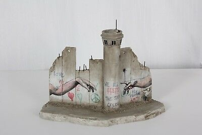 Walled Off Hotel Banksy Original  Defeated Hands Wall