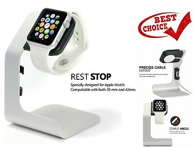 Aluminium Apple Watch Charging Stand iWatch Docking Station Scratchproof Dock