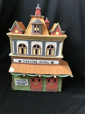 Department 56 Heritage Village Dickens Series Theatre Royal (Read)