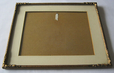Picture Frame 32cms x 27cms gilded Antique Photo Frame1954 free standing