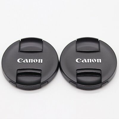 2 PCS * 67mm New Style Pinch Lens Cap E-67II for Canon 67mm Lenses