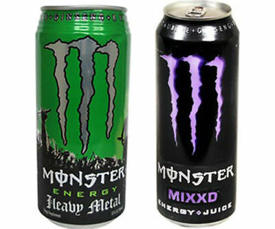 Monster Energy Drink  Mixxd FULL CAN NEW