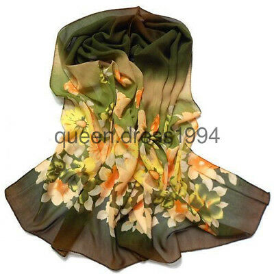 2018 Lady women long Green Yellow soft cotton Scarf Wrap Shawl scarves fashion