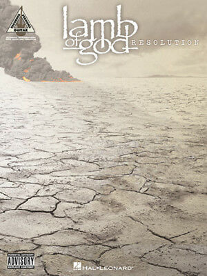 Lamb Of God Guitar Tab / Tablature / **brand New** / Resolution / Songbook