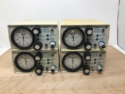 Lot Of 4 Respironics Airway Pressure Monitor 302220 Untested