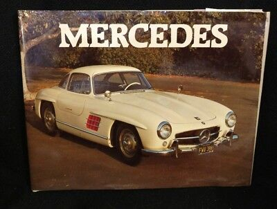 Vintage 1983 Exeter Books Mercedes Coffee Table Book