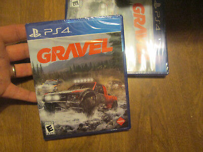 Gravel PS4 Sony BRAND NEW FACTORY SEALED