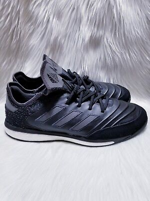 ee5fd7765 Adidas Boost Copa Tango 18.1 TR SZ 10.5 Indoor Training Shoes CP8998 Black  White