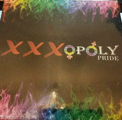 XXXOpoly Pride Game Brand New Sealed