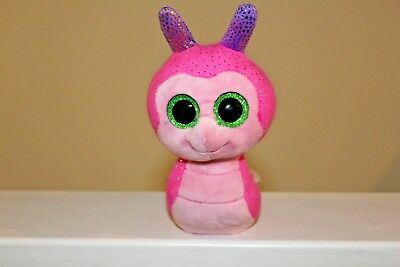 Ty Beanie Boo Pink Snail Purple Shell Pre Owned Good Condition 15Cm 6""