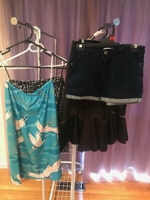 Size 8. 3 Skirts and Shorts by lili Valley Girl Ideals and Jacqui. E