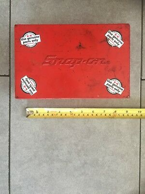 Snap On Metal Tool Box Storage Case KRA - 111A