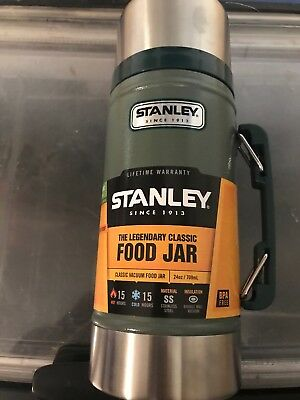 Stanley Legendary Classic Food Jar 24 Oz Vacuum Insulated Stainless Steel New