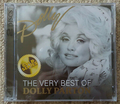 Dolly Parton - The Very Best Of (Gold Series) - 2CD ALBUM [NEW & SEALED]