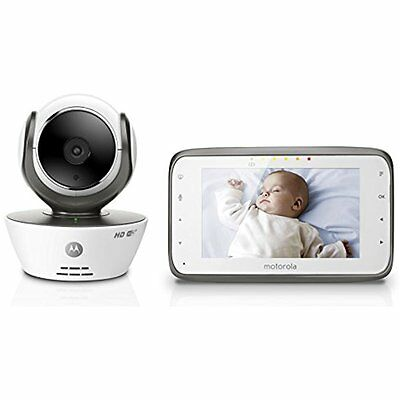 Motorola Baby & Toddler Toys MBP854CONNECT Dual Mode Monitor 4.3-Inch LCD Parent