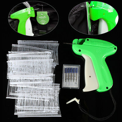 Price Tagging Gun Label Clothes Garment Tag Machine with 1000 Barbs and 5