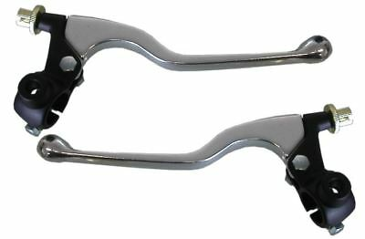 1 x Pair of Universal Cable Levers with Clamps & Mirror Boss