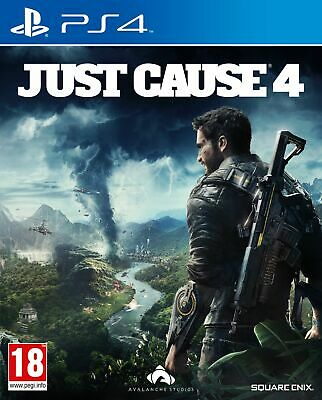 Just Cause 4 (PS4) IN STOCK NOW New & Sealed UK PAL Free UK Postage