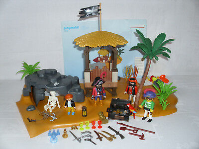 Playmobil 7718 Pirateninsel Versteck Lagune Piraten aus 3939 Bauanleitung
