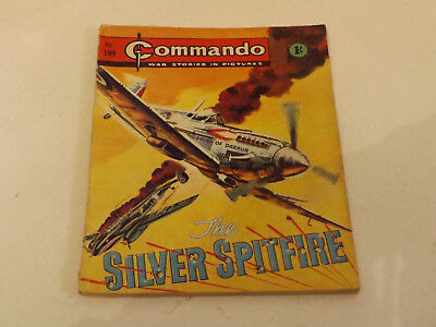 Commando War Comic Number 199 !,1966 Issue,good For Age,52 Years Old,very Rare