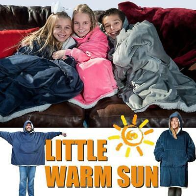 Blanket Sweatshirt For Adults & Children 2019