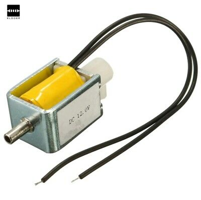 DC 12V 2-Position 3-Way Micro Mini Electric Solenoid Valve For Gas Air Pump VXUS