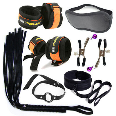 Cozy Feel Bondage SM Tool Love high quality set kit restraints straps black BDSM