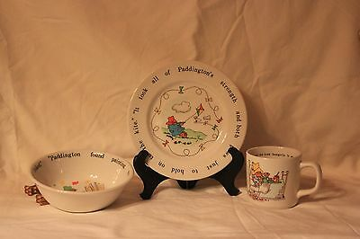 Coalport Paddington Cup/Bowl/Plate