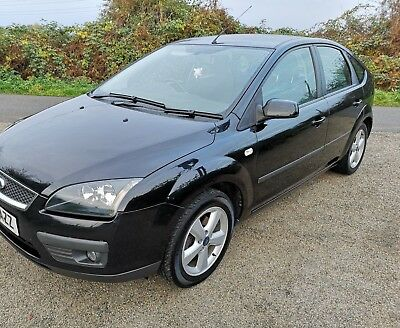 *** Sold *** 2007 Ford Focus 1.6 Zetec 16V 5Dr Climate Pack, Black , Very Clean